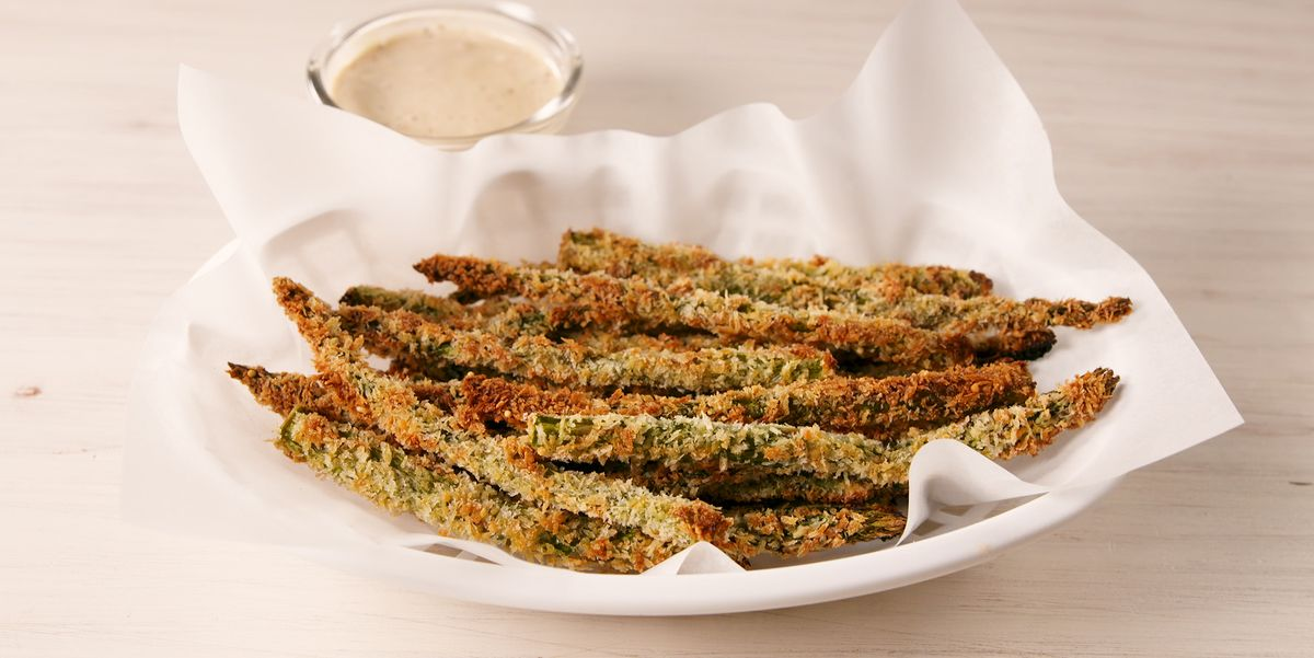 You Will Be Addicted To These Parmesan Asparagus Fries