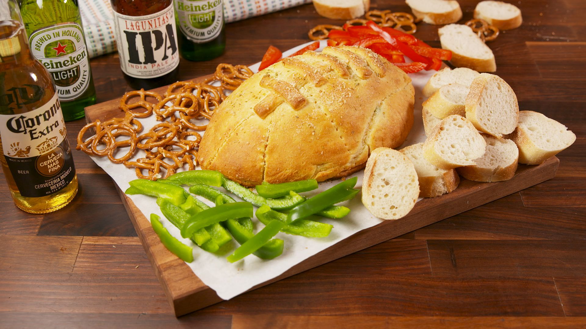Football Pizza Bomb Is Super Bowl's Baked Brie