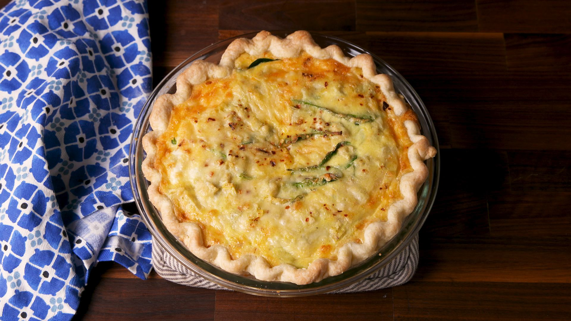 Best Spinach And Artichoke Quiche Recipe How To Make Spinach And Artichoke Quiche