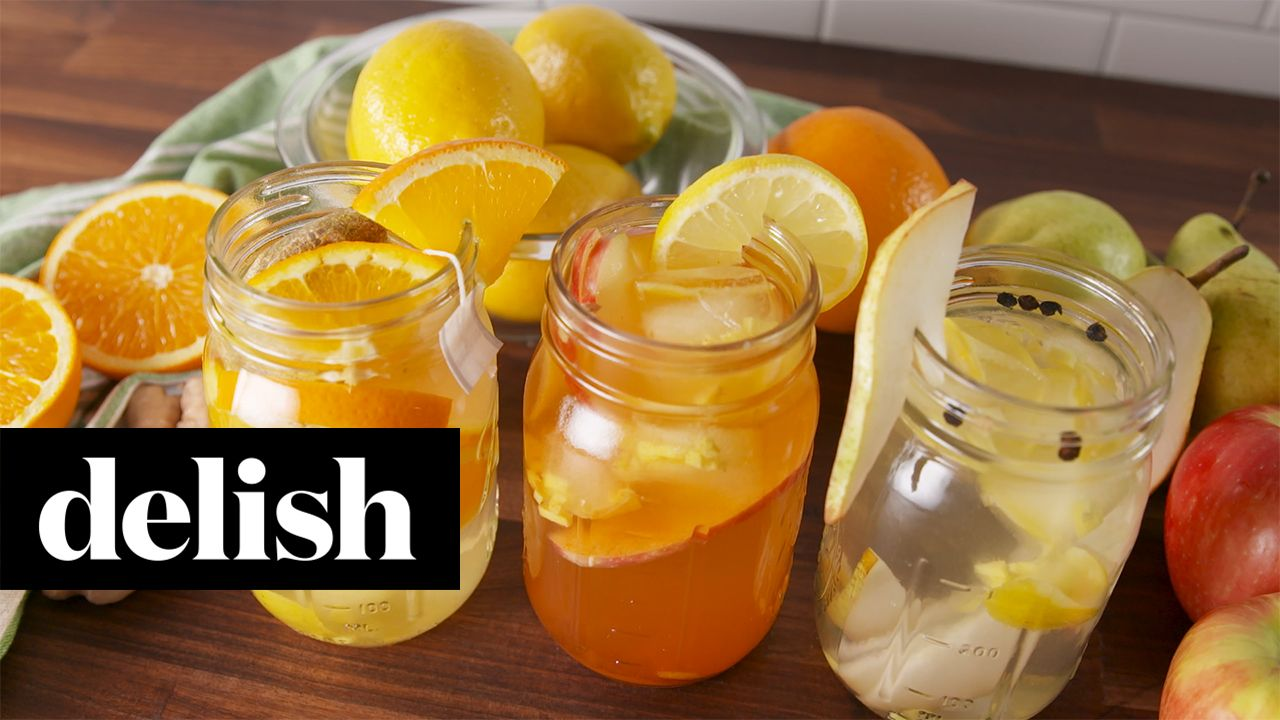 Stomach-Soothing Inflused Waters