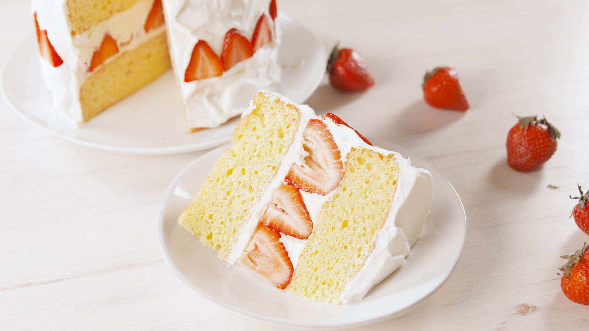 Best Strawberry Shortcake Cake Recipe How To Make Strawberry Shortcake Cake