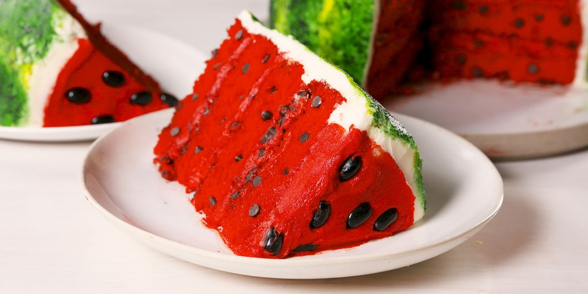We Can't Get Over This INSANELY CUTE Watermelon Cake