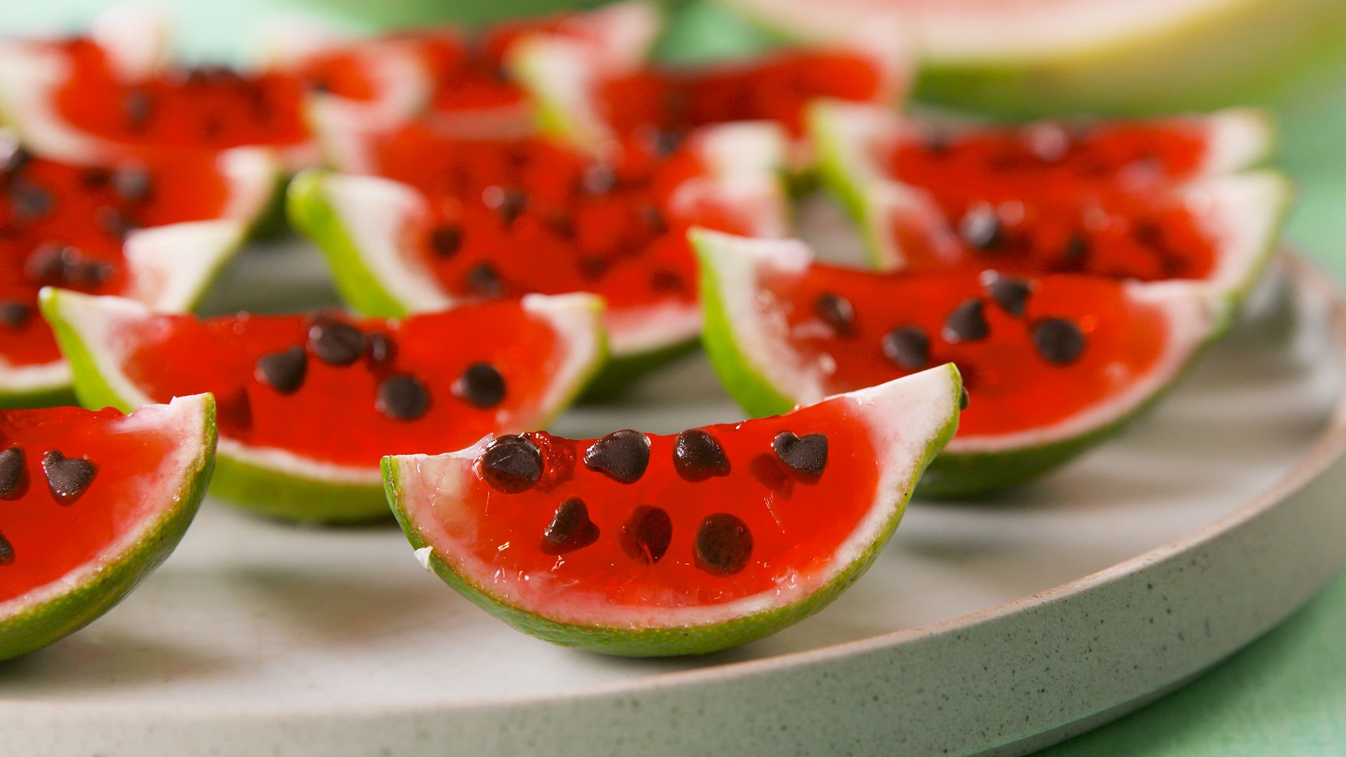 Celebrate Summer With These ADORABLE Watermelon Jell-O Shots