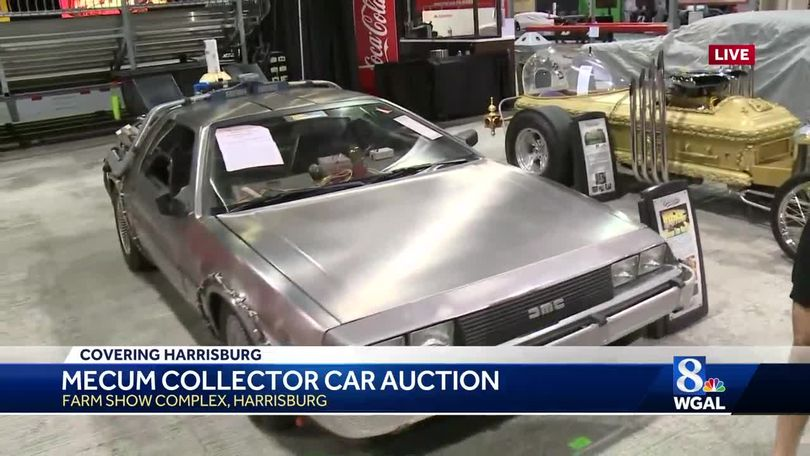 Check Out The MOST EXPENSIVE Car At The Mecum Auction In Harrisburg - Car show harrisburg pa