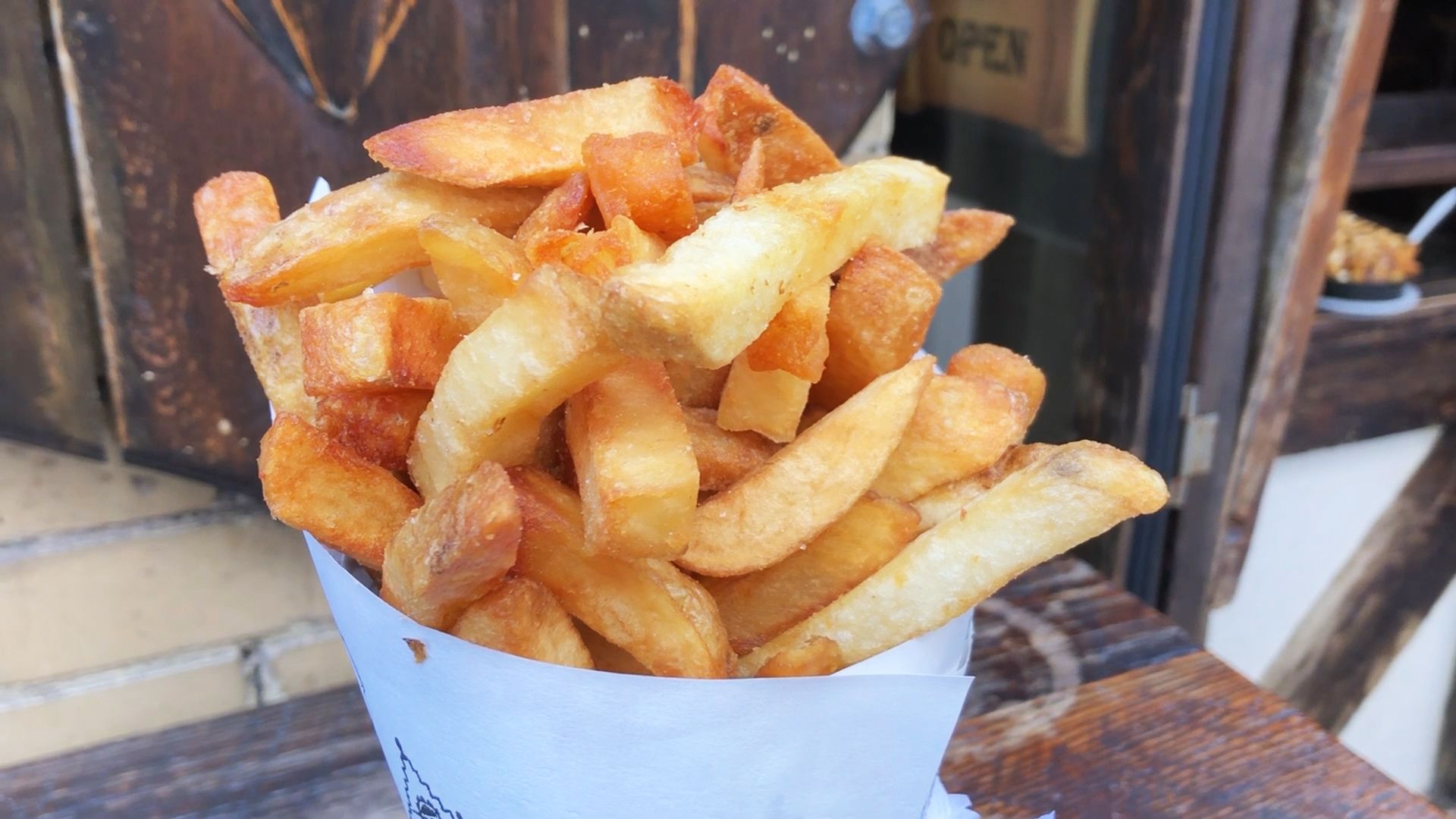 This Restaurant Makes 2 Tons Of Fries Every Week