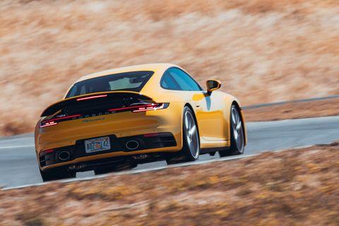 Porsche 911 Carrera S on Track