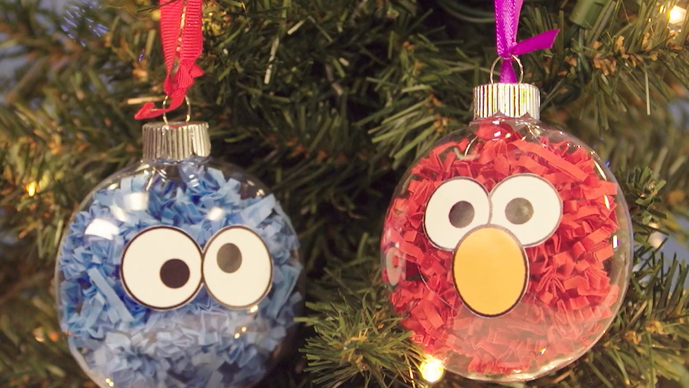 10 DIY Christmas Ornaments , Easy DIY Kids Christmas Ornaments