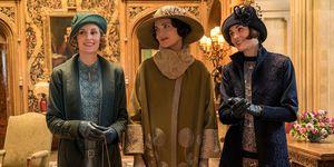 Downton abbey video película elle