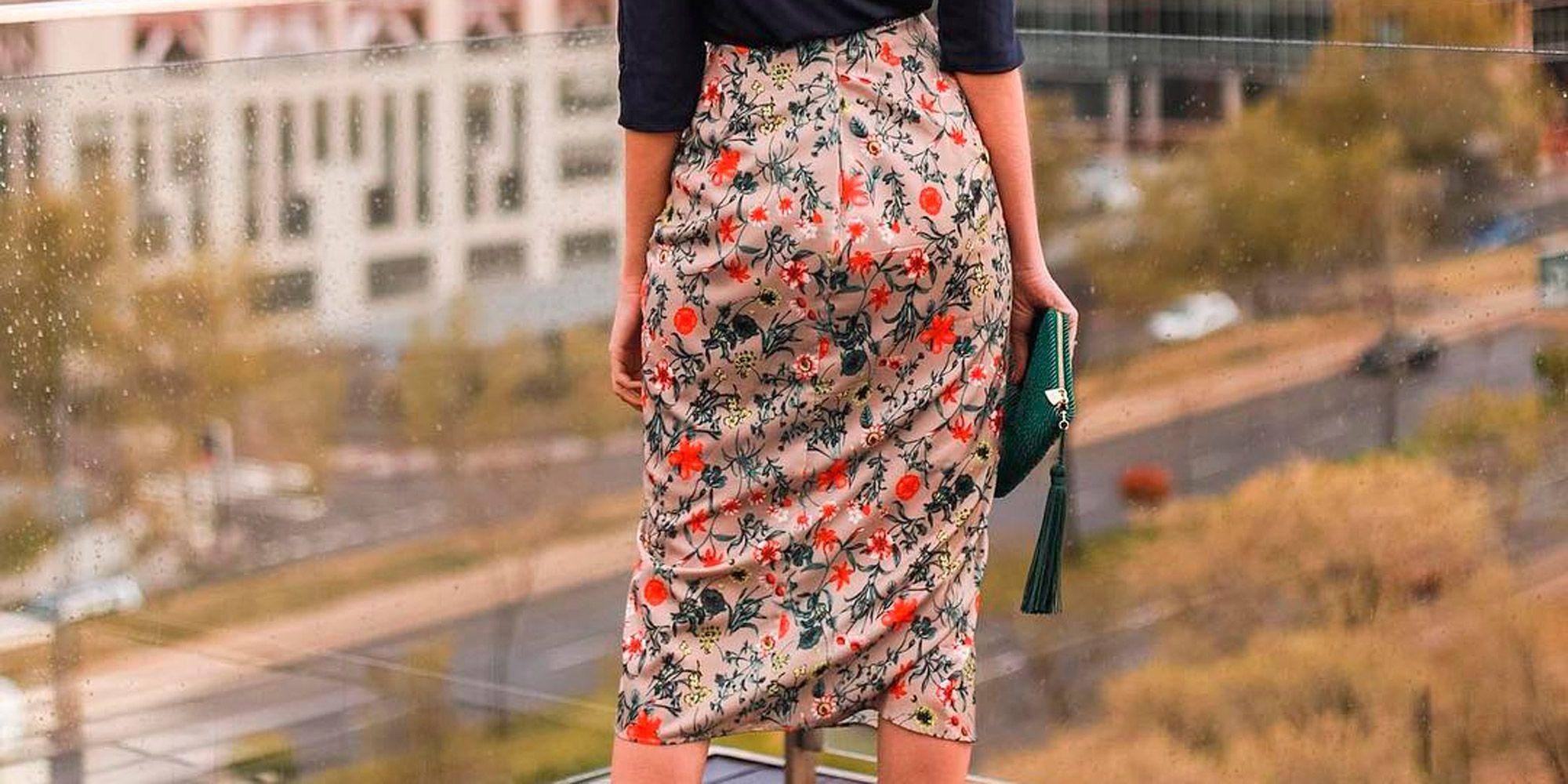 7d4ba509bd Looks de invitada con falda - Faldas largas