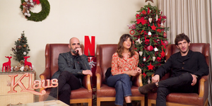 Luis Tosar, Belén Cuesta y Quim Gutiérrez Klaus Netflix elle.es