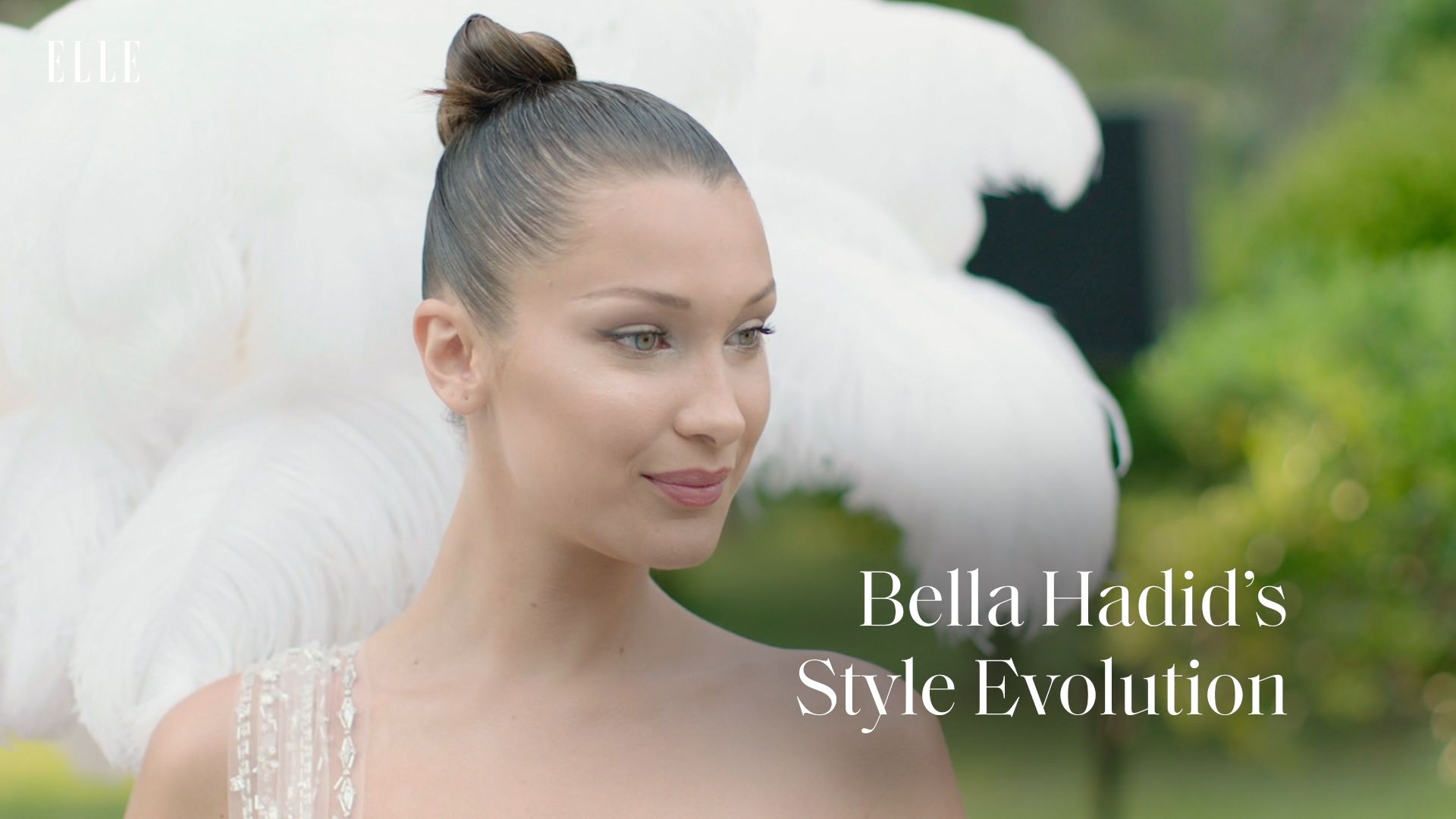 Bella Hadid is wearing her watch backwards now, so that's a thing