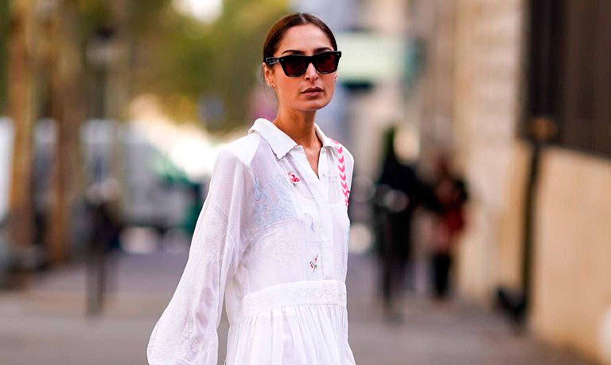 8b2ede519 Looks con vestido blanco o cómo llevar el básico más ideal del verano