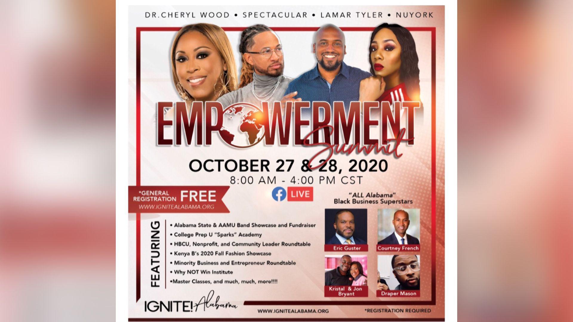 IGNITE! Alabama to host 2020 Virtual Empowerment Summit