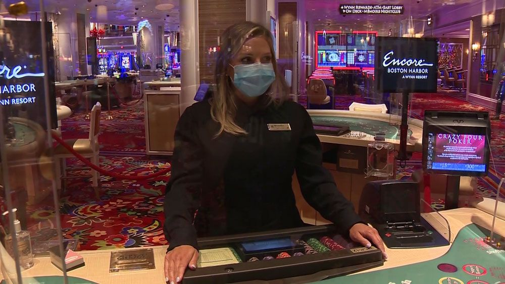 Encore Boston Harbor reopens after nearly 4-month shutdown