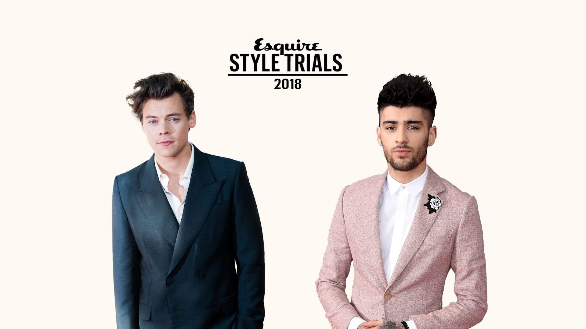 Who Is The Most Stylish Man Of 2018? Quarter Finals: Harry Styles vs. Zayn Malik