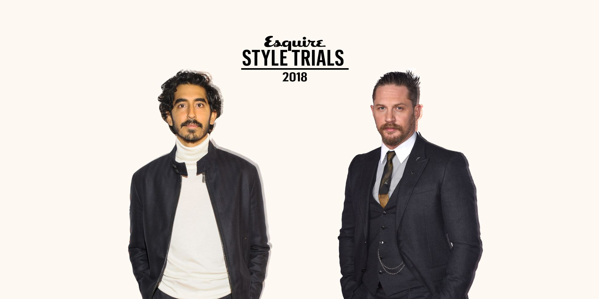 Who Is The Most Stylish Man Of 2018? Quarter Finals: Dev Patel vs. Tom Hardy