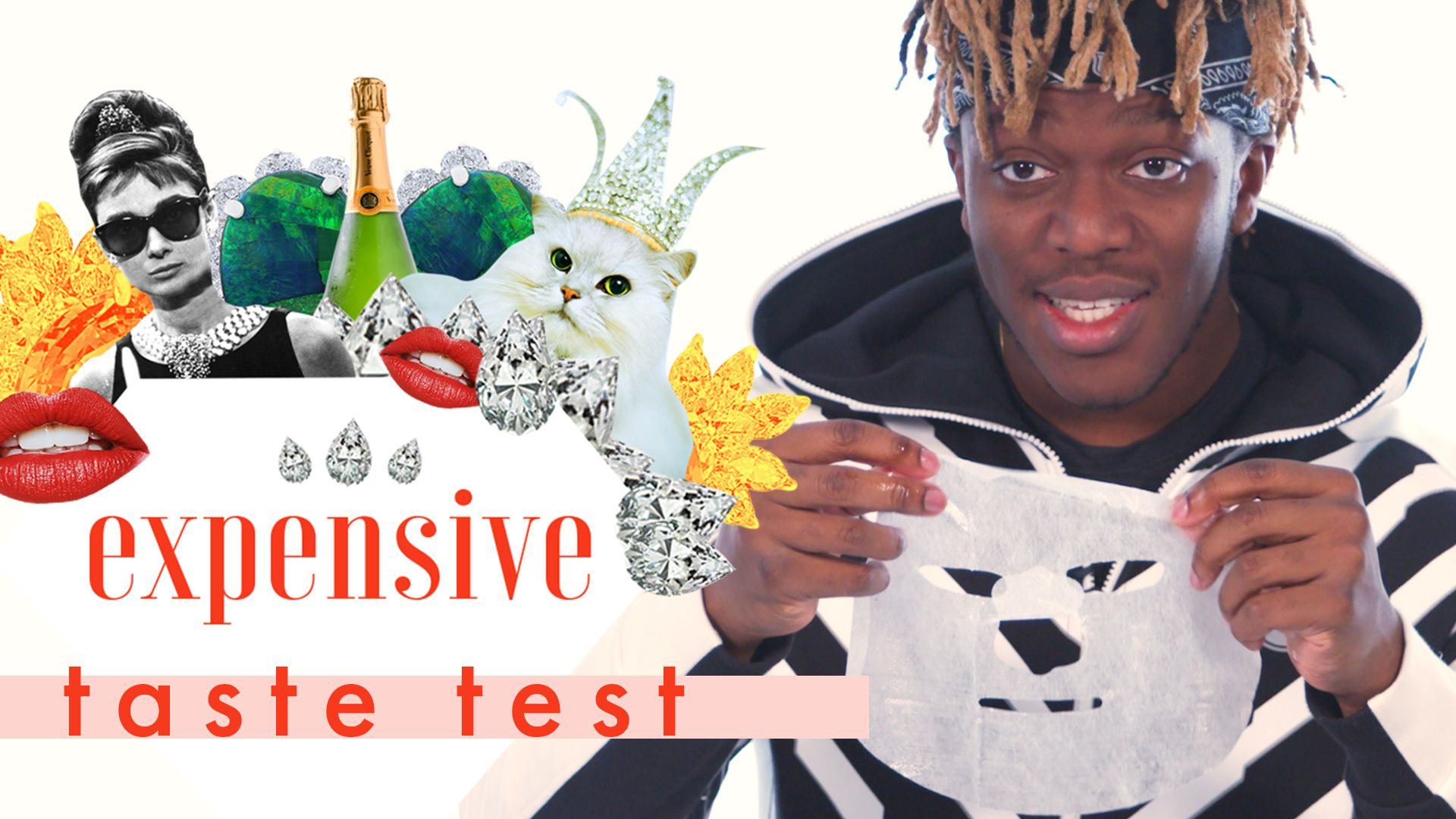 Watch Us Make KSI Wash a Barbie Doll's Hair and Eat Cheetos on 'Expensive Taste Test'