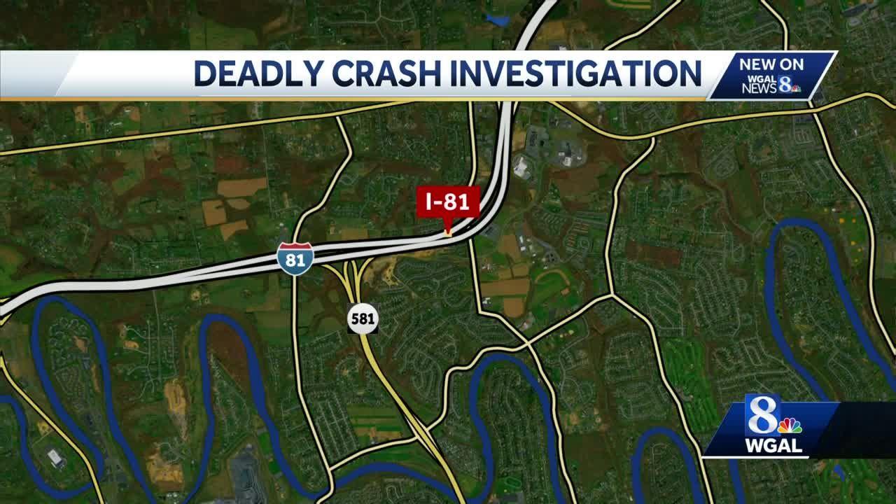 Truck left scene of fatal I-81 crash, police say