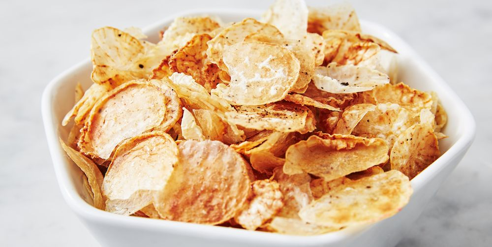 Best Fauxtato Chips Recipe - How to Make Fauxtato Chips