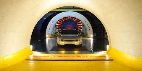 Pininfarina tunel viento