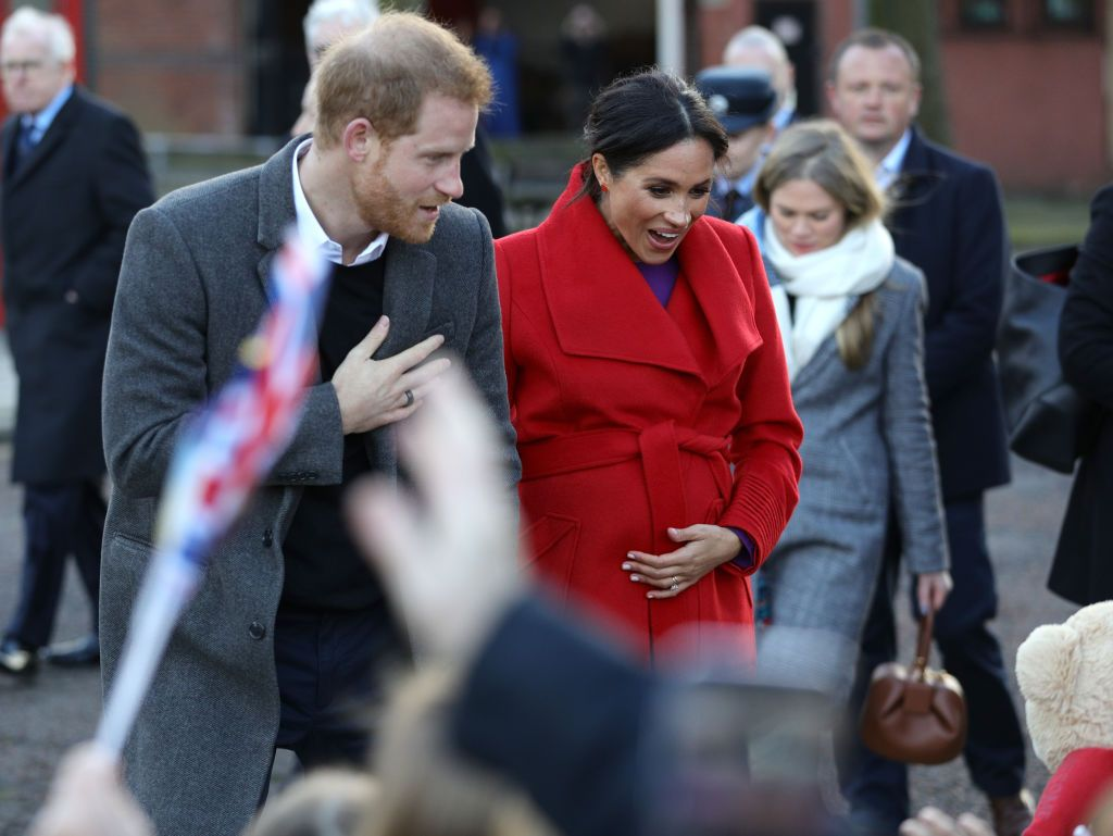 Prince Harry and Meghan Markle Made a Powerful Statement About What's to Come for in 2019 During Yesterday's Royal Visit