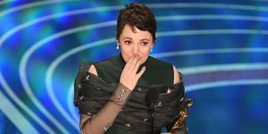 Watch Olivia Colman's hilarious Best Actress Oscar acceptance speech