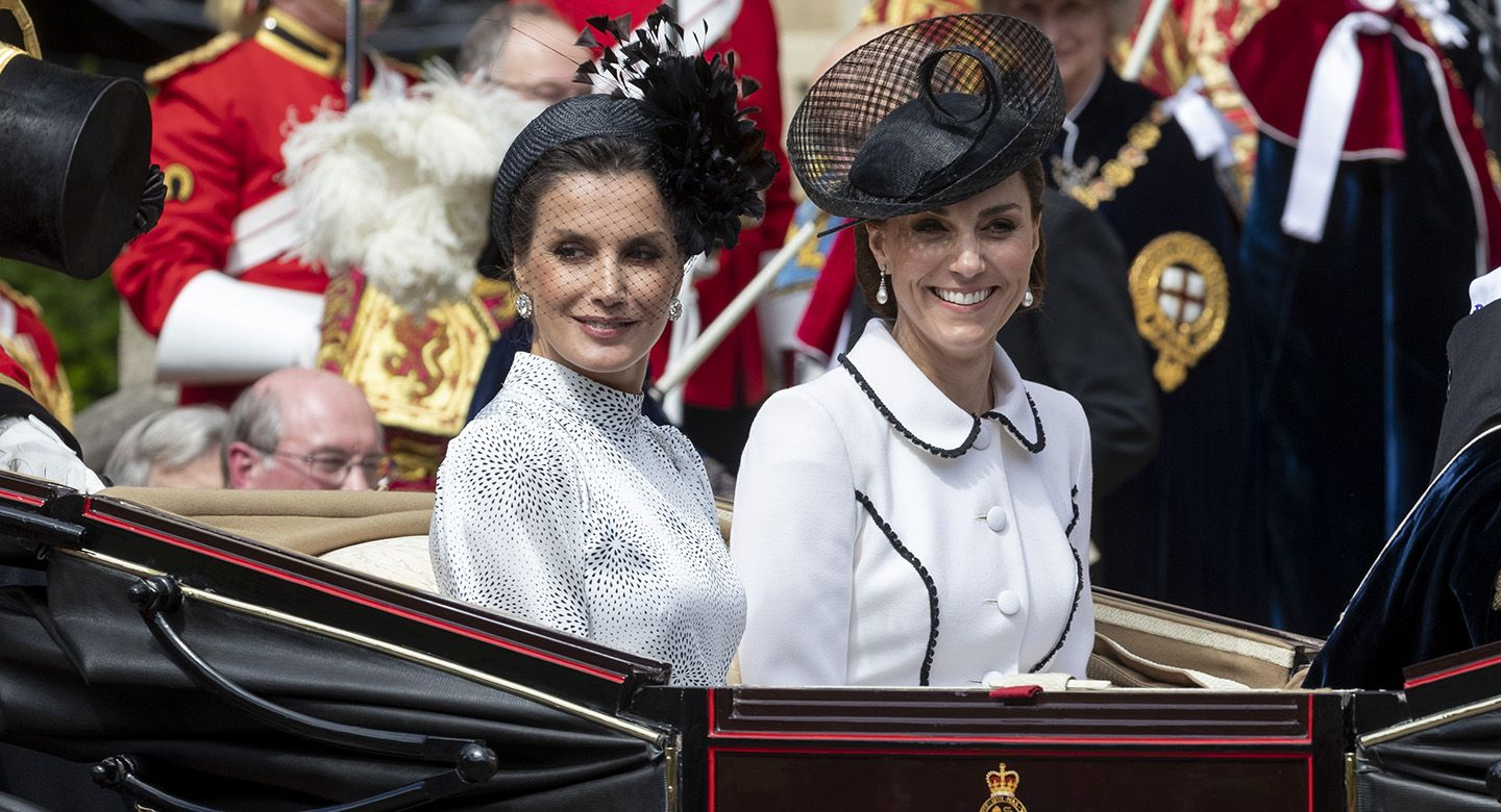 Kate Middleton's Order of the Garter outfit was a sweet nod to Princess Diana