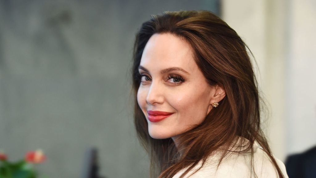 Angelina Jolie Was Seen Leaving Her Ex-Husband Johnny Lee Miller's Home in Brooklyn