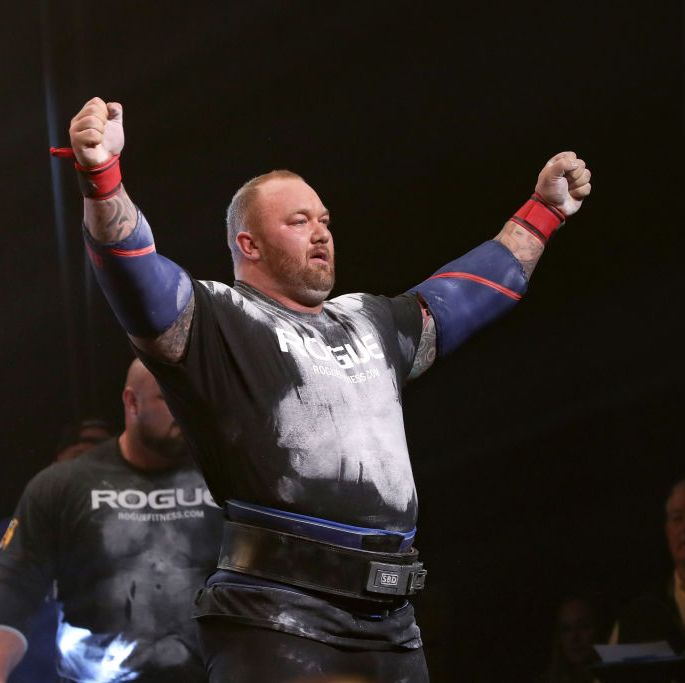 Watch The Mountain Set an Unofficial Deadlift World Record