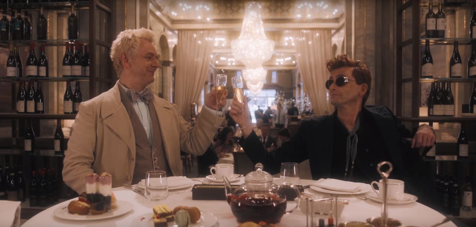 Good Omens unleashes devilishly fun first trailer with David