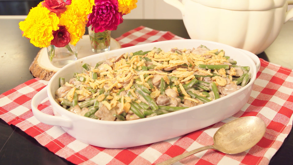 You Can Make This Classic Green Bean Casserole Recipe Entirely on Your Stovetop