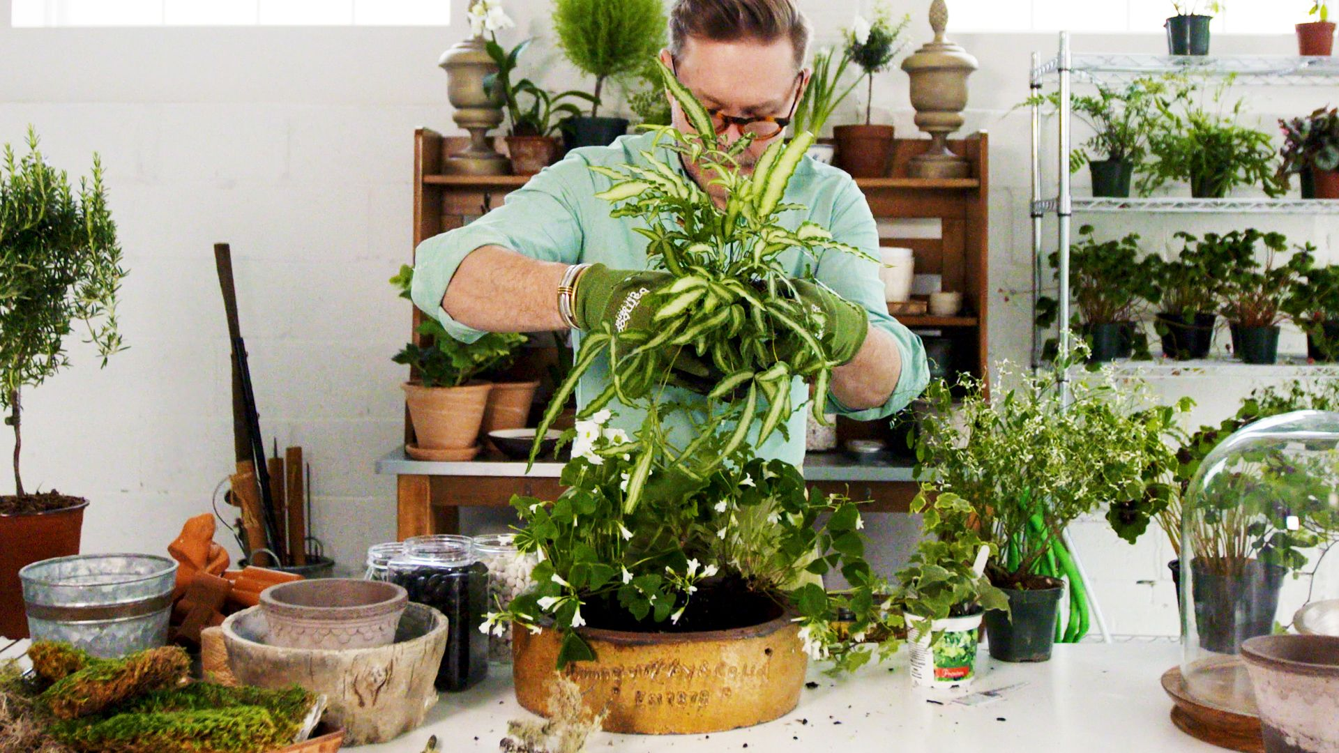 This Super-Easy 'Living Arrangement' Takes Container Gardening to the Next Level