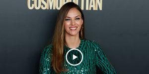 Helen Lindes, modelo, Rudy Fernández, hijos de Helen Lindes, Alan Fernández Lindes y Aura Fernández Lindes, Premios Cosmopolitan 2019