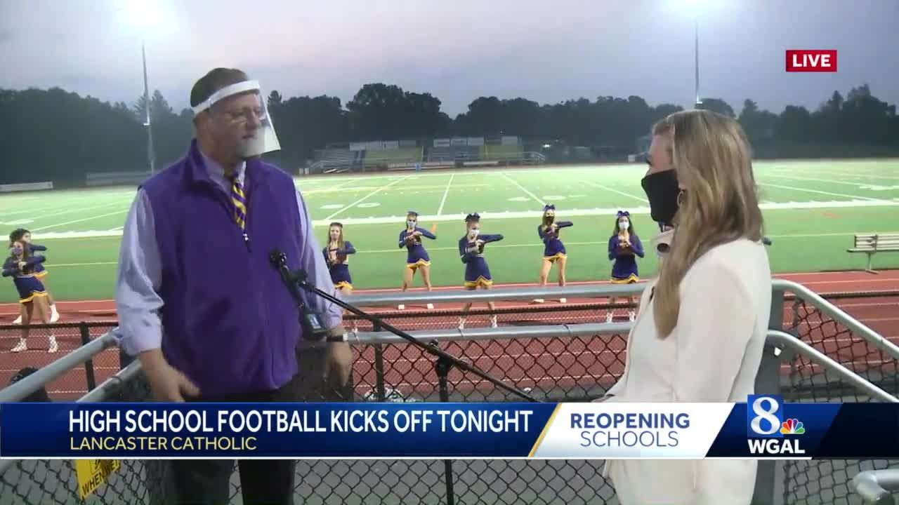 High school football kicks off tonight