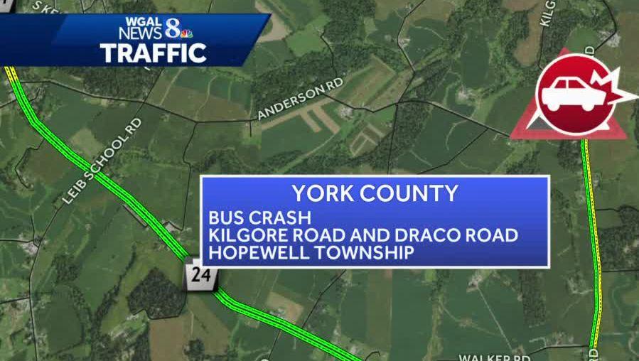 School bus involved in crash in York County