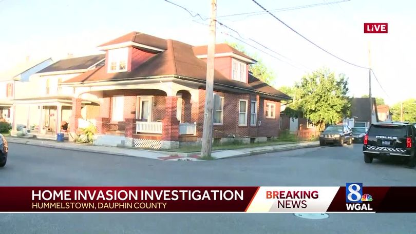 Mom grabs gun in home invasion, shots fired, police say