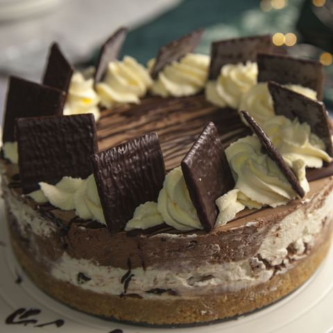 after eight cheesecake recept