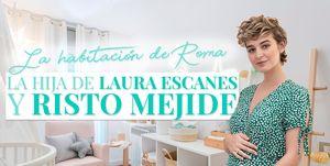 La habitación de la hija de Laura Escanes y Risto Mejide