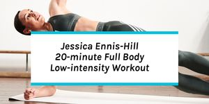 Exclusive Jessica Ennis-Hill Low-Intensity Workout inspired by Jennis Fitness, her new workout programme
