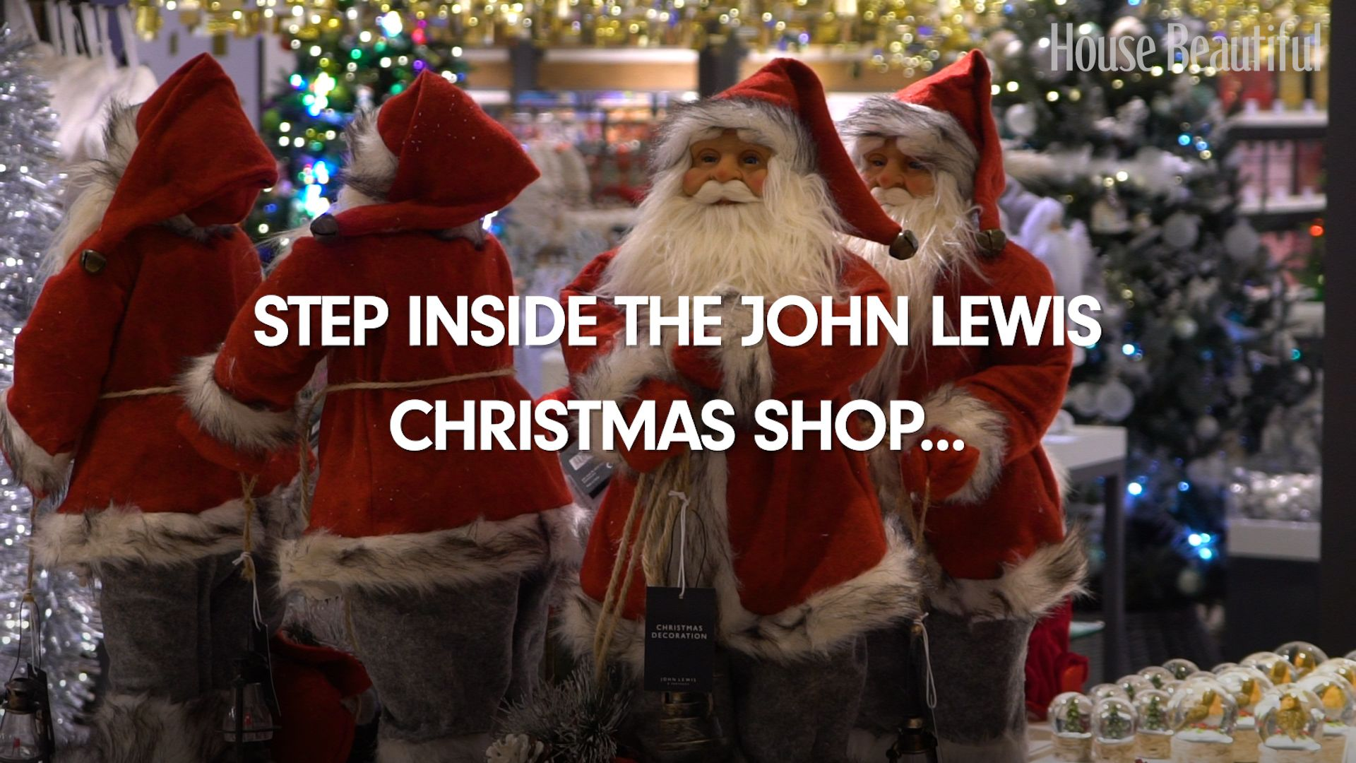Video Inside John Lewis Oxford Street Christmas Shop