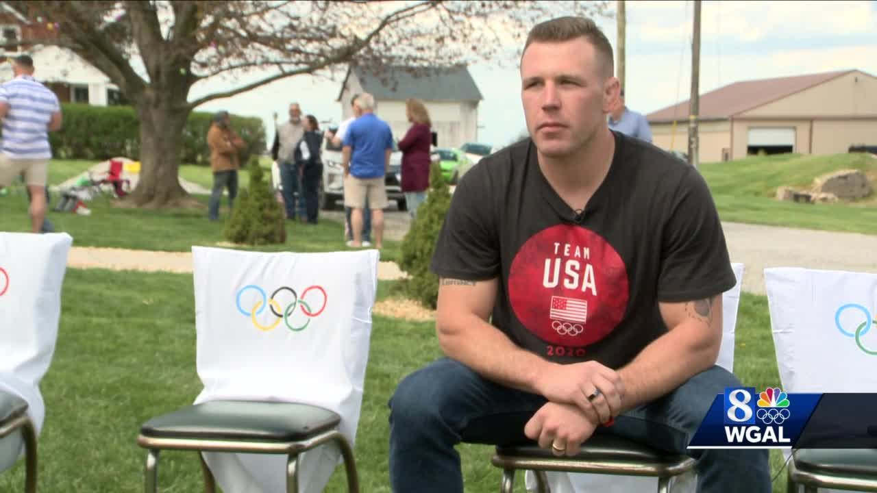 U.S. Olympic wrestler comes home to York County
