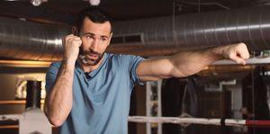 Jorge Blanco, Spaniard, cómo hacer jab, como hacer cross, golpes deportes contacto