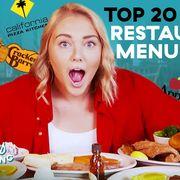top 20 chain restaurant menu items