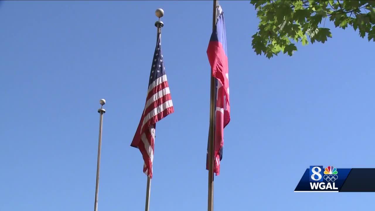Lancaster raises Juneteenth flag for first time