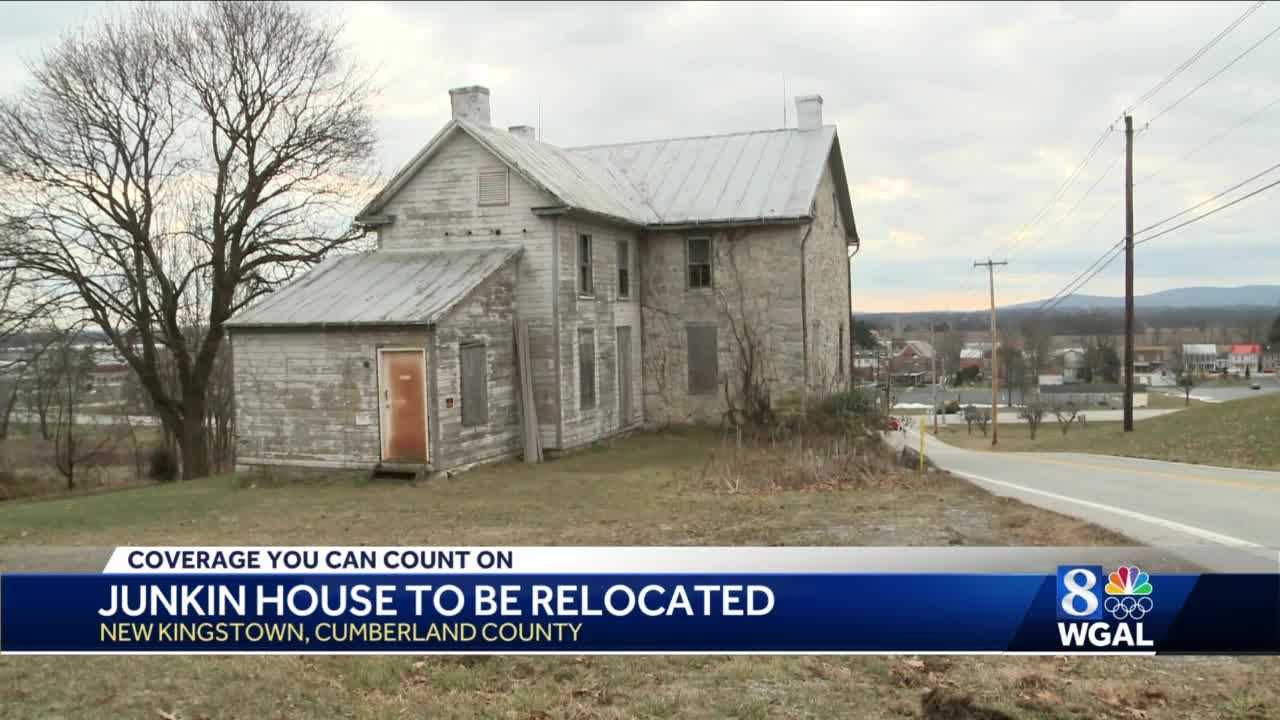 Historic home in Cumberland County to be moved