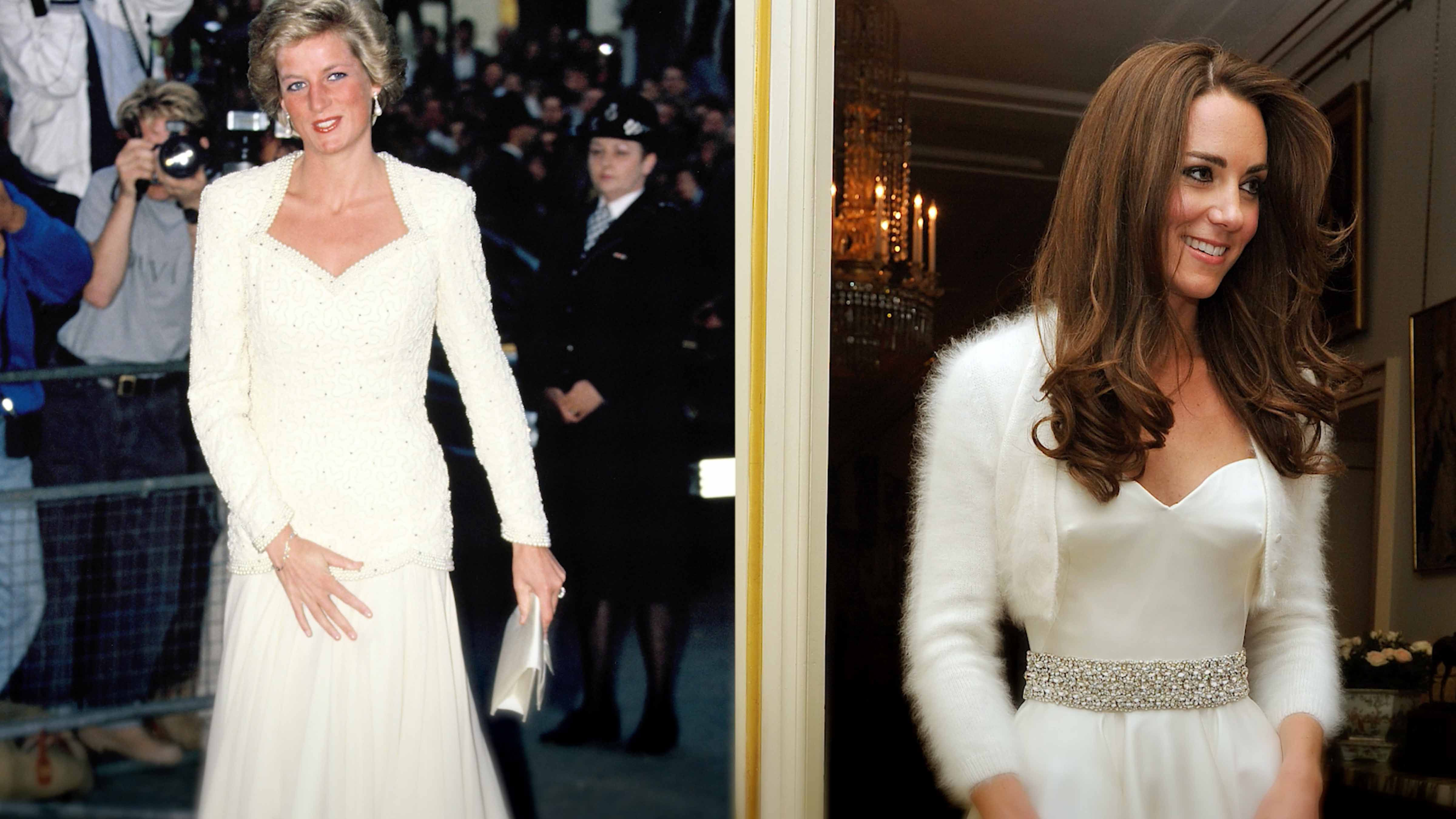 Kate Middleton Channels Princess Diana's Style as She Arrives in Pakistan