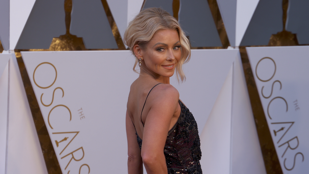 Kelly Ripa's 'Biological Age' Is Actually 35, Thanks To Her Workouts And Plant-Based, Alkaline Diet