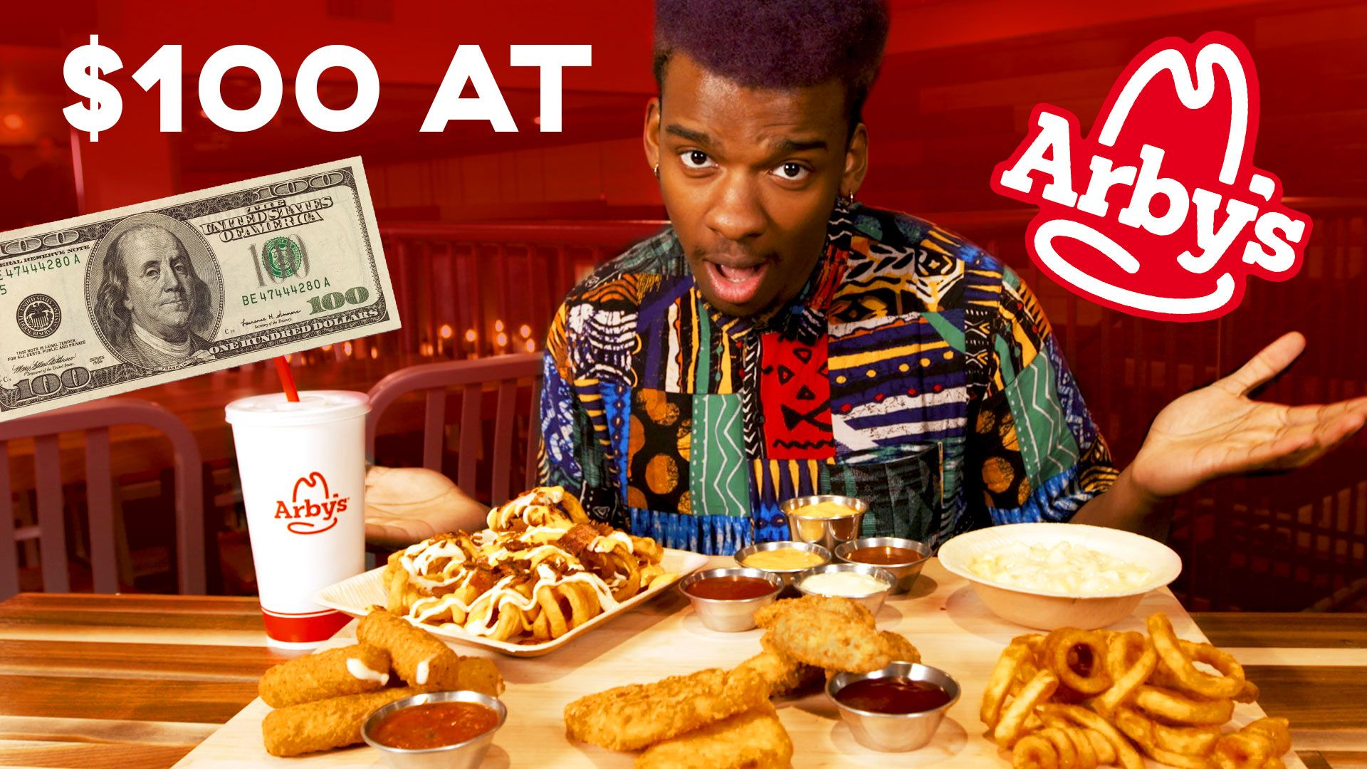 We Sent Someone To Arby's With $100—Here's What He Bought