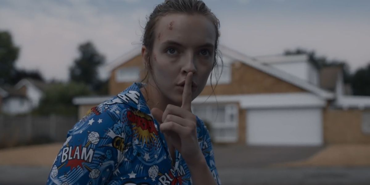 Killing Eve season 3 first look show Jodie Comer's Villanelle dressed as a clown