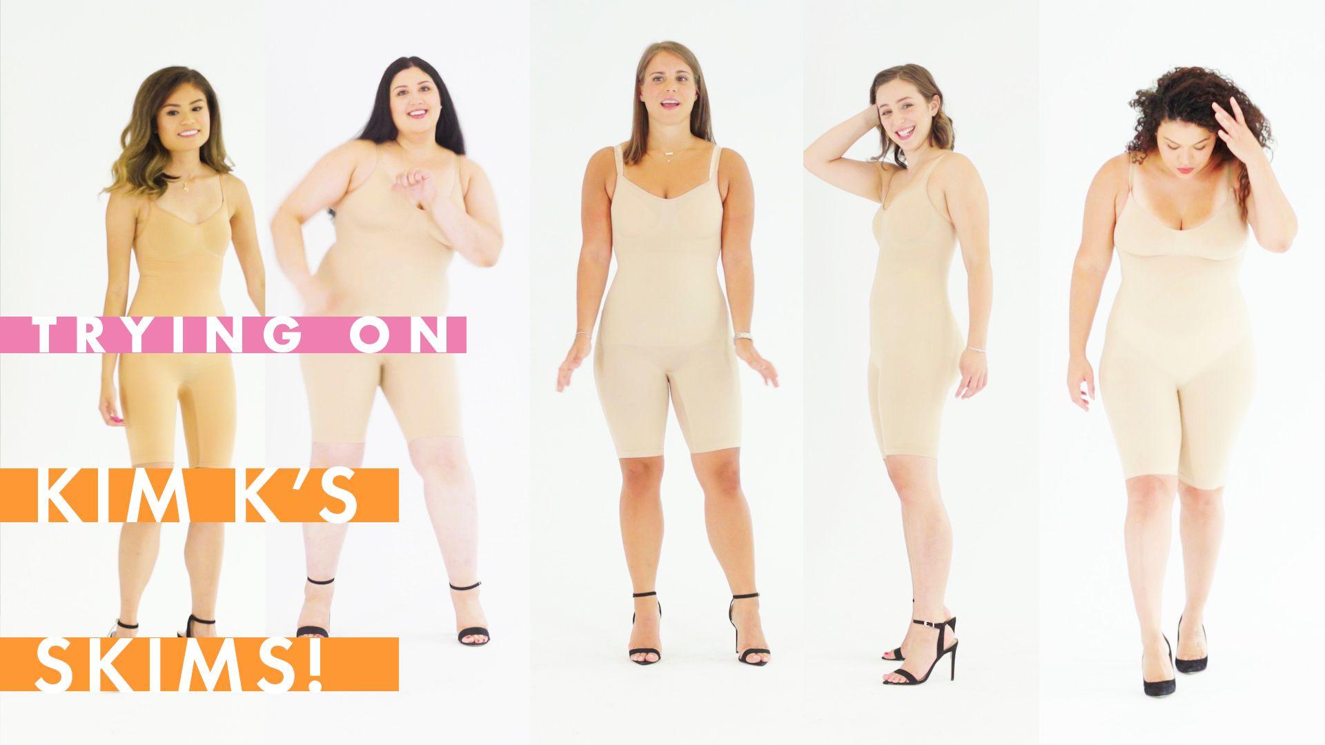 Amanda Page Real Name we tried kim kardashian's skims shapewear